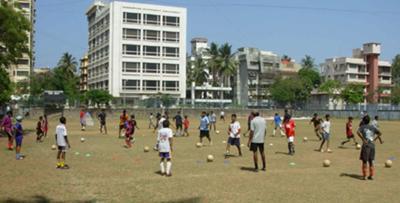 Football in Bandra