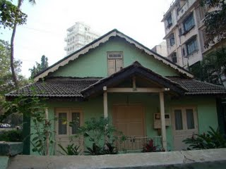 An old bungalow in Pali Village, Bandra